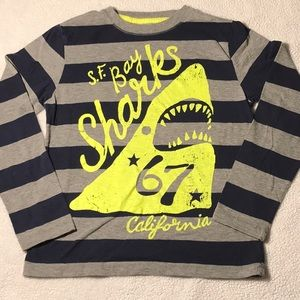 4/12$💙💚 SF BAY SHARKS Long Sleeve